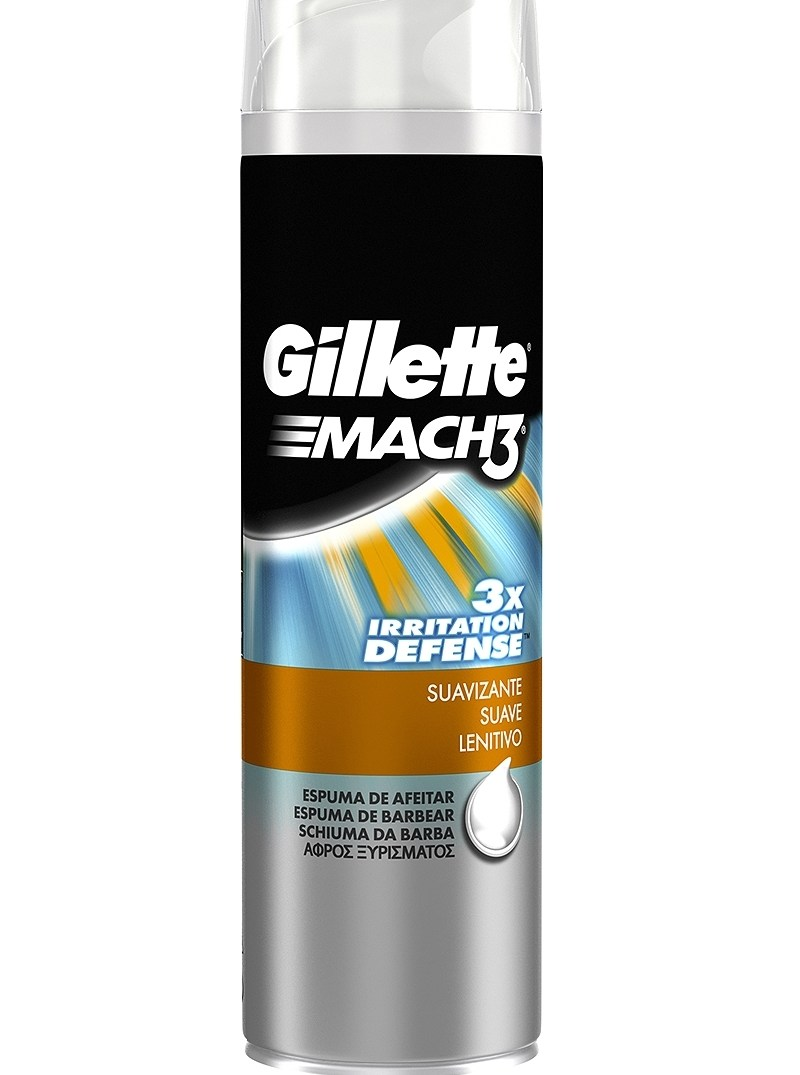 Gillette Mach 3 Smooth 250ml 7702018404759