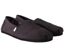 Εσπαντρίγες Toms Classic Black On Black Canvas 10002931