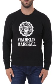 Μπλούζα Μακρυμάνικη Franklin Marshall Round Neck Long FLMF063ANW18