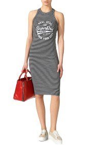 Φόρεμα Superdry Pacific Bodycon G80007XQ