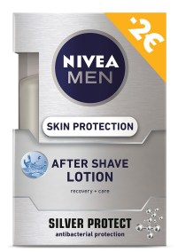 Nivea After Shave Lotion Silver Protection 100ml -2€ 5201178025863