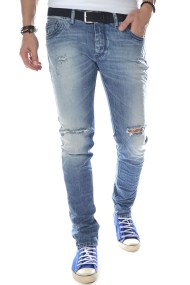 Παντελόνι Jean Brokers Skinny Fit 17017-303-3124