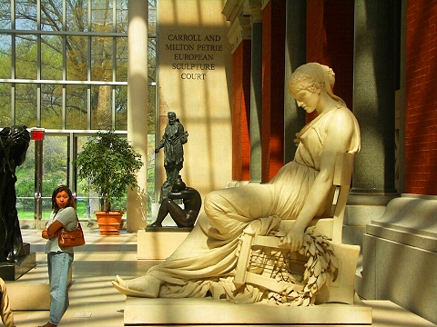 Ny Eurpoean Sculpture Court At The Metropolitan Museum Of