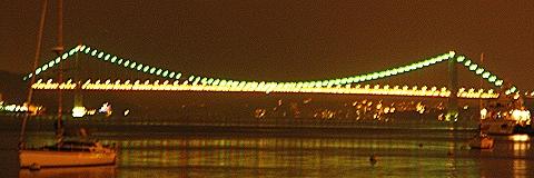 NY- George Washington Bridge, Night Shots