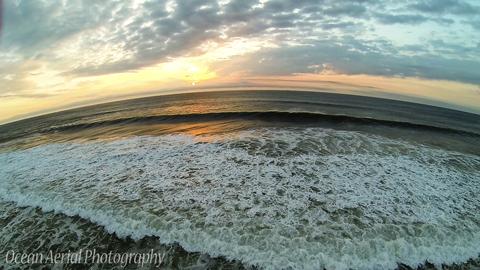 Seaside Park – Waves and Sunrise 8-28-14