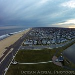 Silver Lake, Belmar New Jersey Aerial Photo