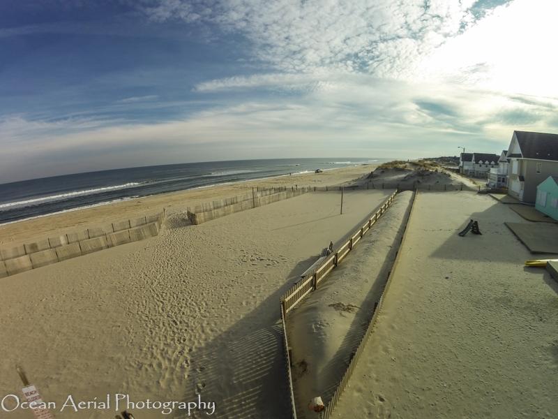 Lavallette – Ocean Beach NJ Aerial Photo Beach View