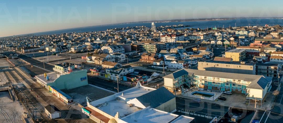 Seaside Heights Aerial Photo – Panoramic 12/26/14
