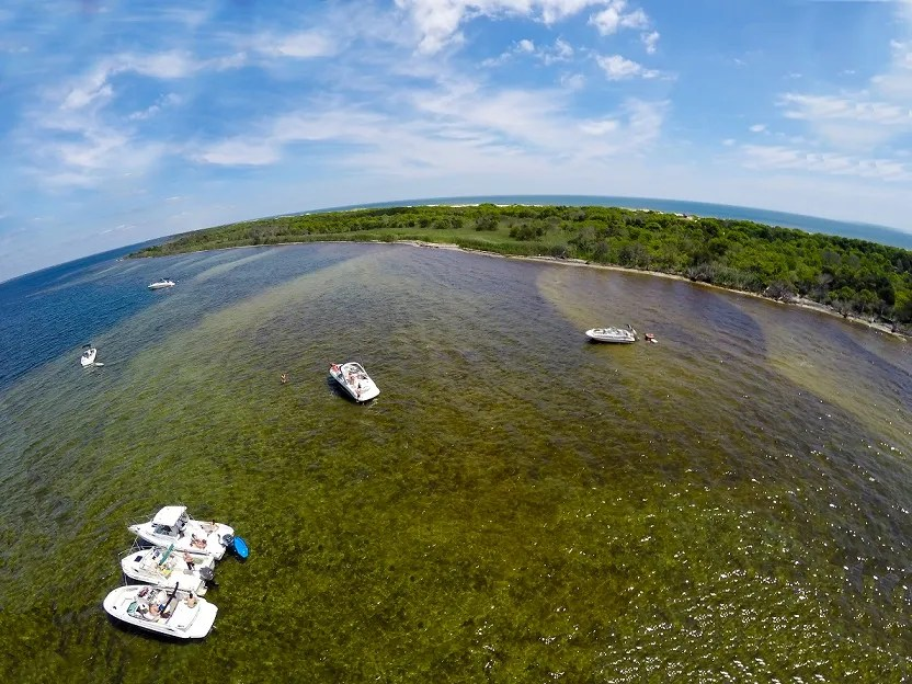 Tices Shoal Aerial Photo 6/13/15