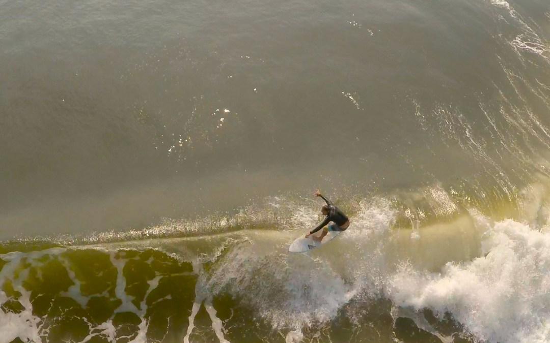 Aerial Surf Video 7-17-15