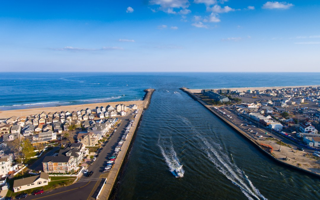 Manasquan Dog Beach – Manasquan Inlet Aerial Video