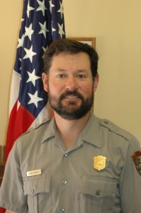 New Joshua Tree National Park Superintendent David Smith.