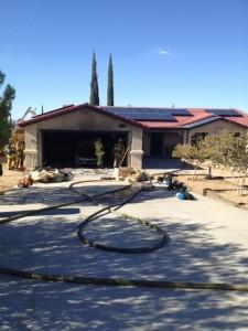 San Andreas garage fire 1