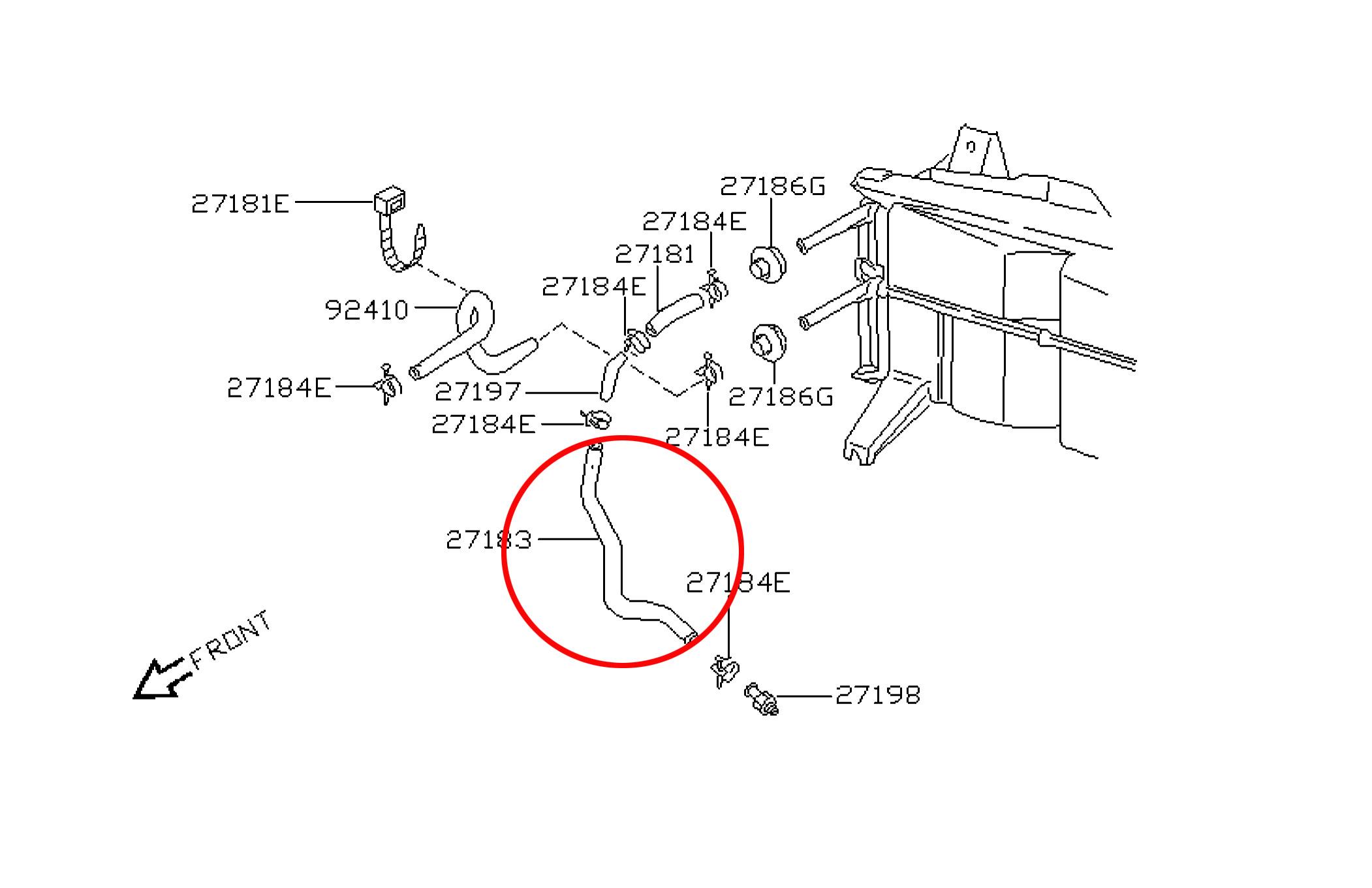 Vacuum Diagram For Infiniti I30