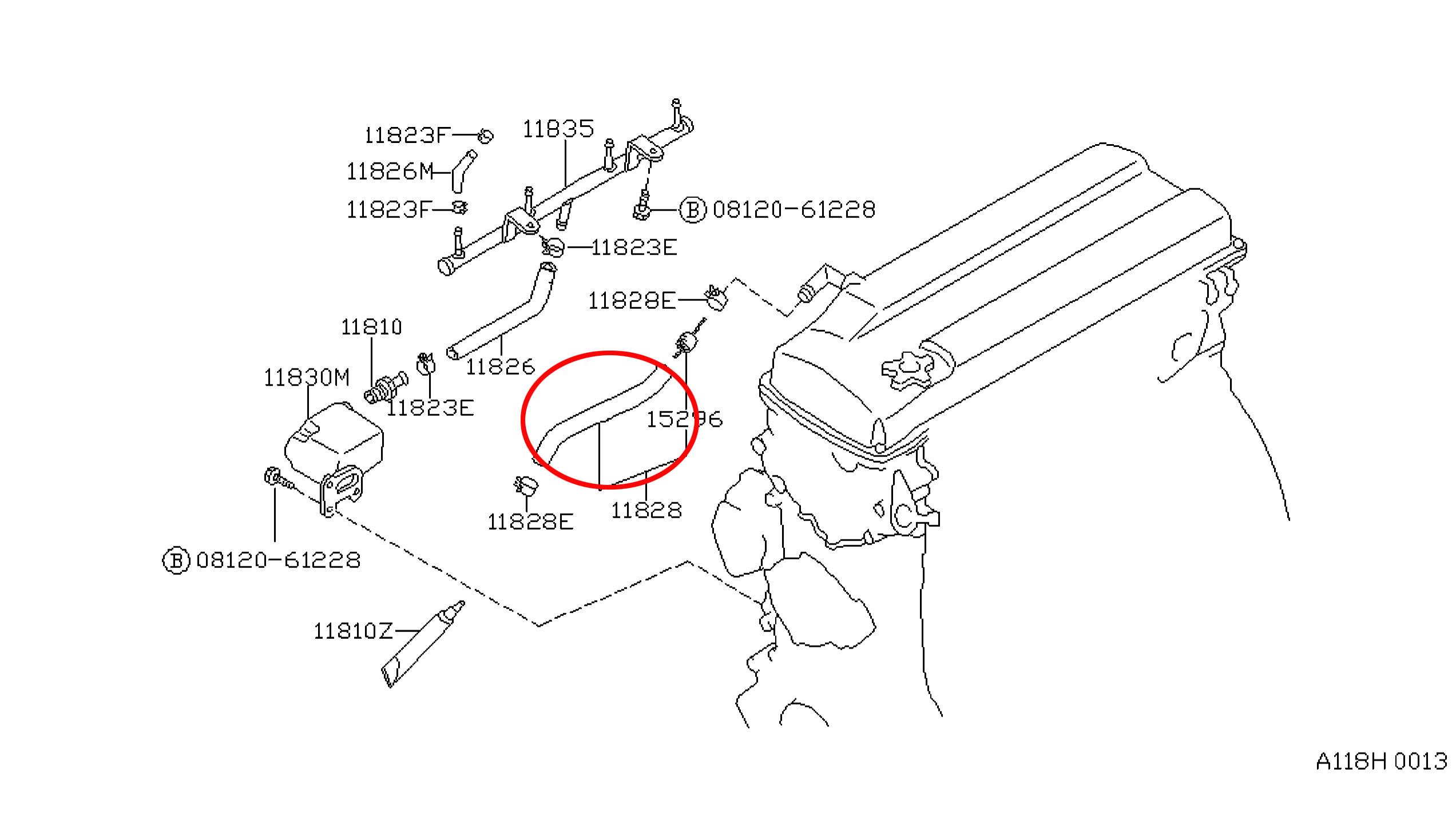 Vacuum Diagram For A 2002 Nissan Xterra Fixya