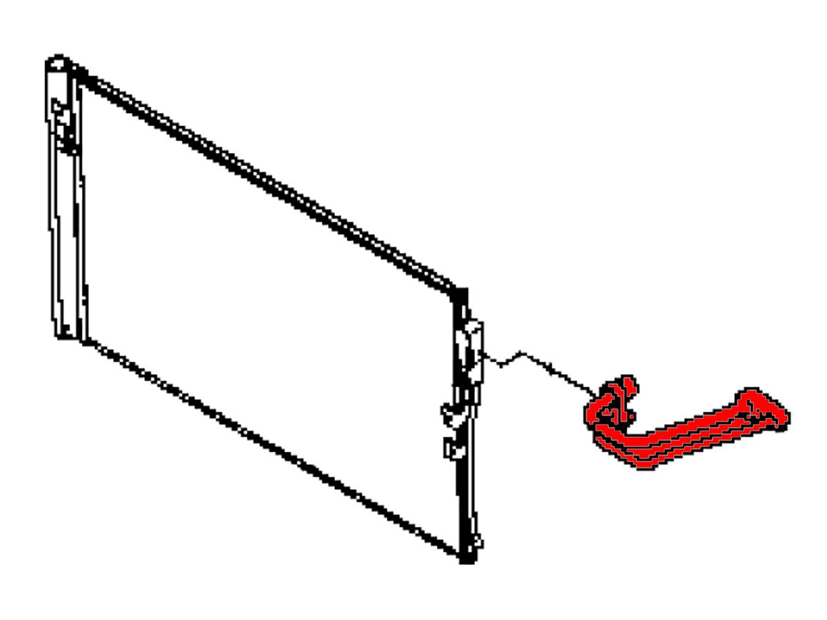 Oem Q60 A C Condenser High Pressure Pipe