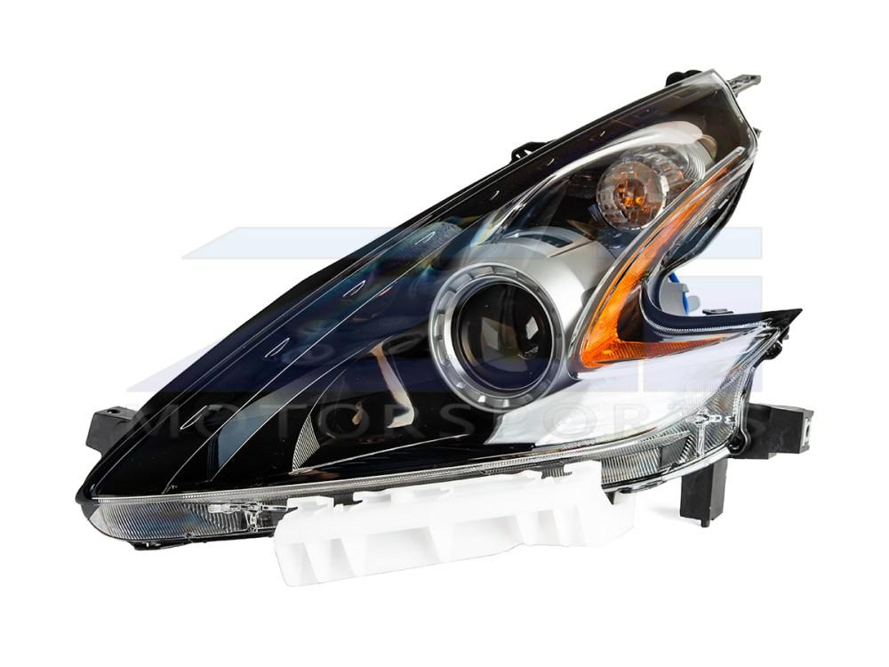 medium resolution of oem 370z black headlight assembly 15 nismo 17 370z 898 00