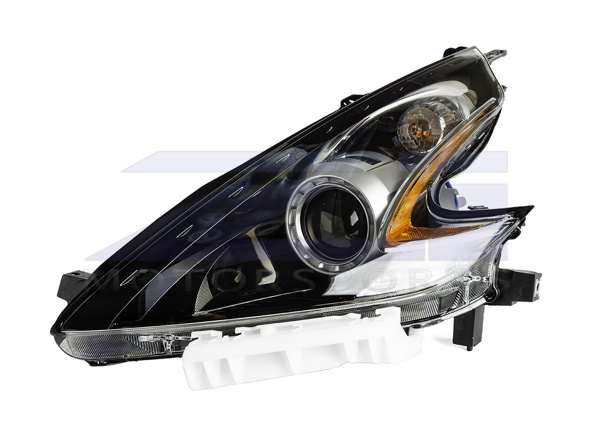 hight resolution of oem 370z black headlight assembly 15 nismo 17 370z 898 00