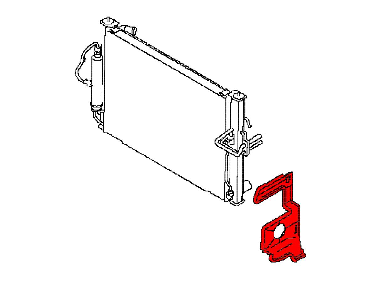 Oem A C Condenser Side Seal Panel