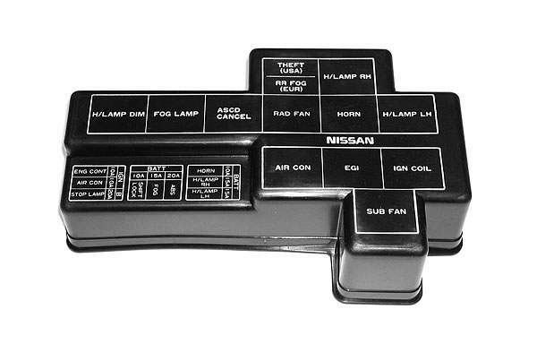 For Infiniti G35 Fuse Box Oem 300zx Z32 Fuse Relay Box Cover Z1 Motorsports 300zx