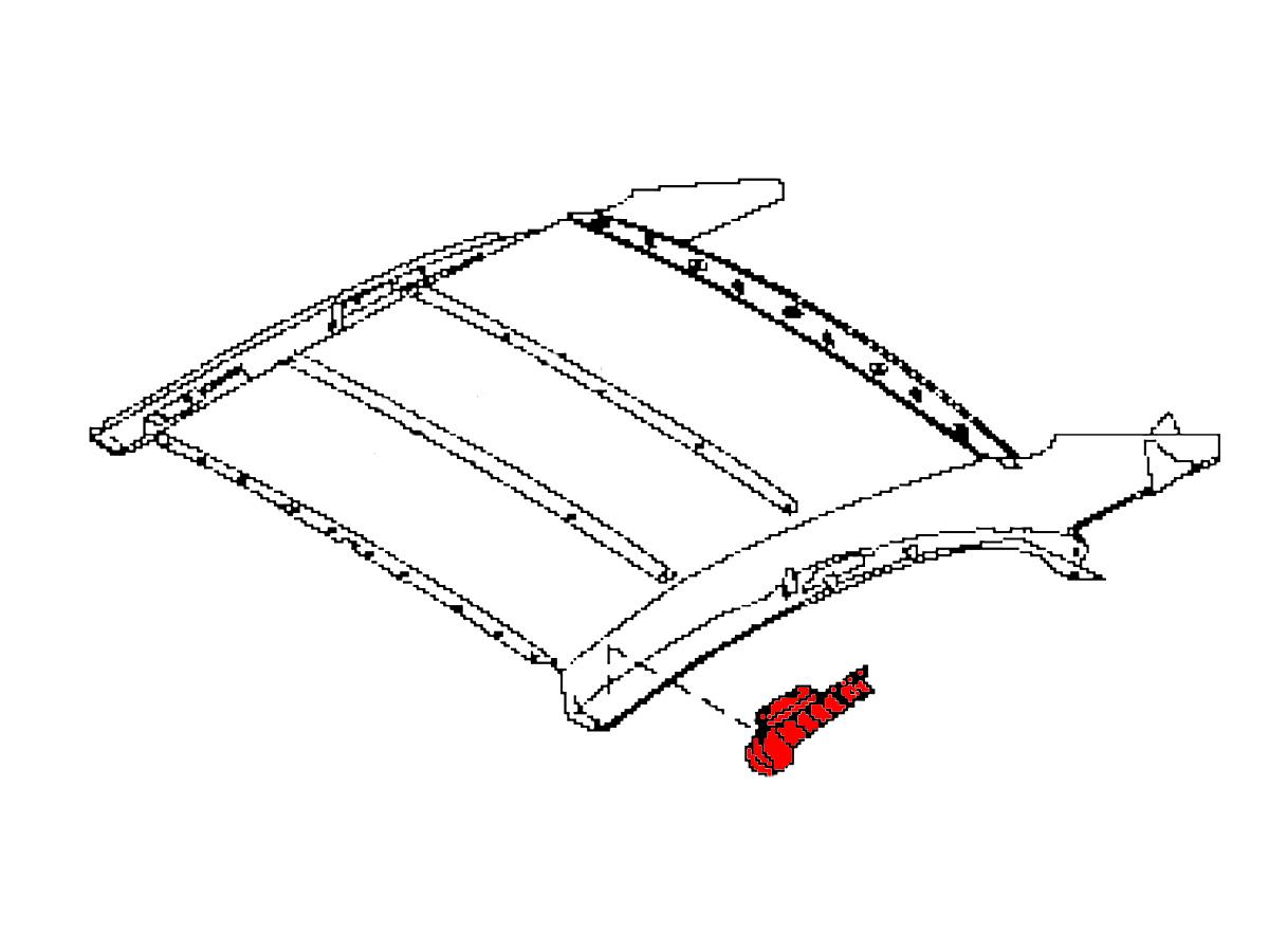 Oem G37 Convertible Headliner Moulding Kit Z1 Motorsports