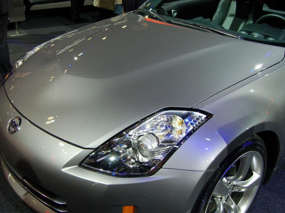 medium resolution of oem nissan 350z aluminum hood 598 00 548 00 part
