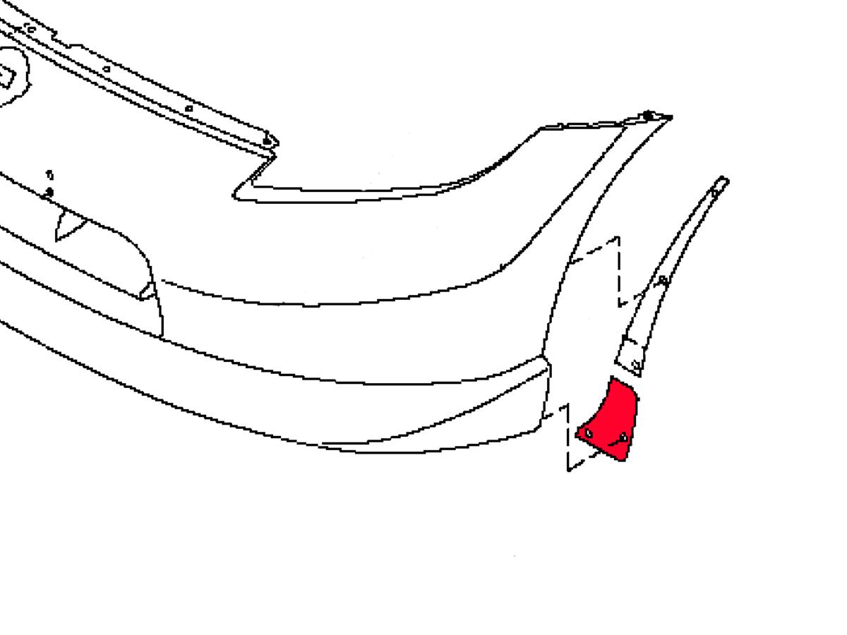 Oem 370z Nismo Front Corner Bumper Fascia Protector