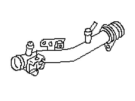 OEM VQ35DE Passenger Cooler Crossover Pipe, Performance