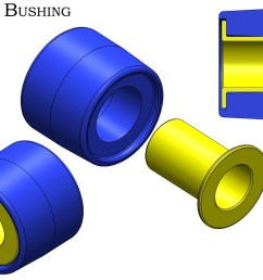 the large stock rubber fluid filled bushing in the rear subframe of 350z g35 370z g37 models is prone to failure it is common to see evidence of the  [ 1108 x 831 Pixel ]