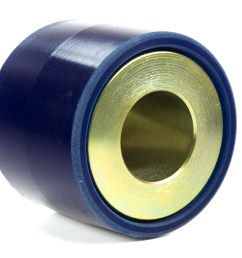 the large stock rubber fluid filled bushing in the rear subframe of 350z g35 370z g37 models is prone to failure it is common to see evidence of the  [ 1200 x 900 Pixel ]