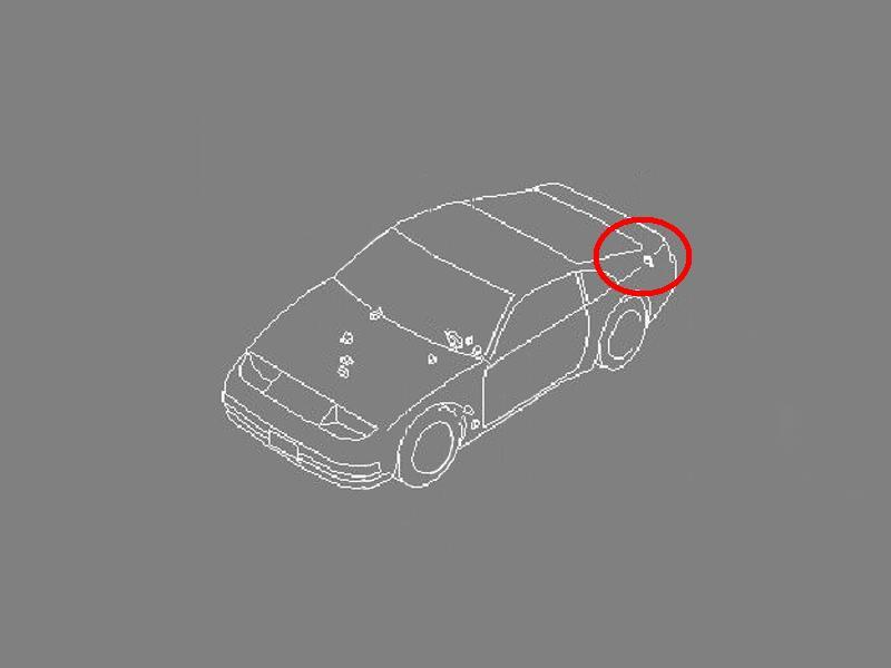 OEM 300ZX (Z32) Brake Lamp Control Module, Z1 Motorsports