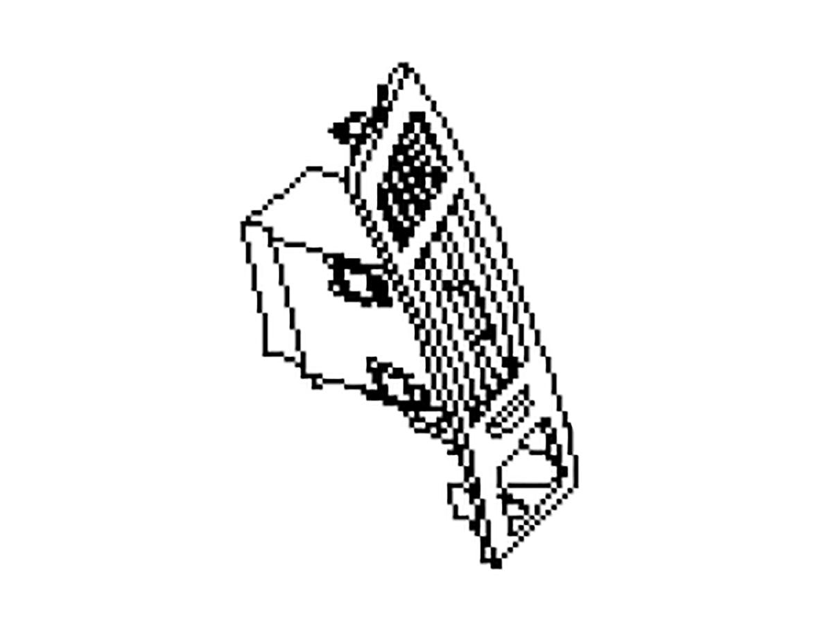 Oem Fx35 Fx45 Dash Board Vent Assembly