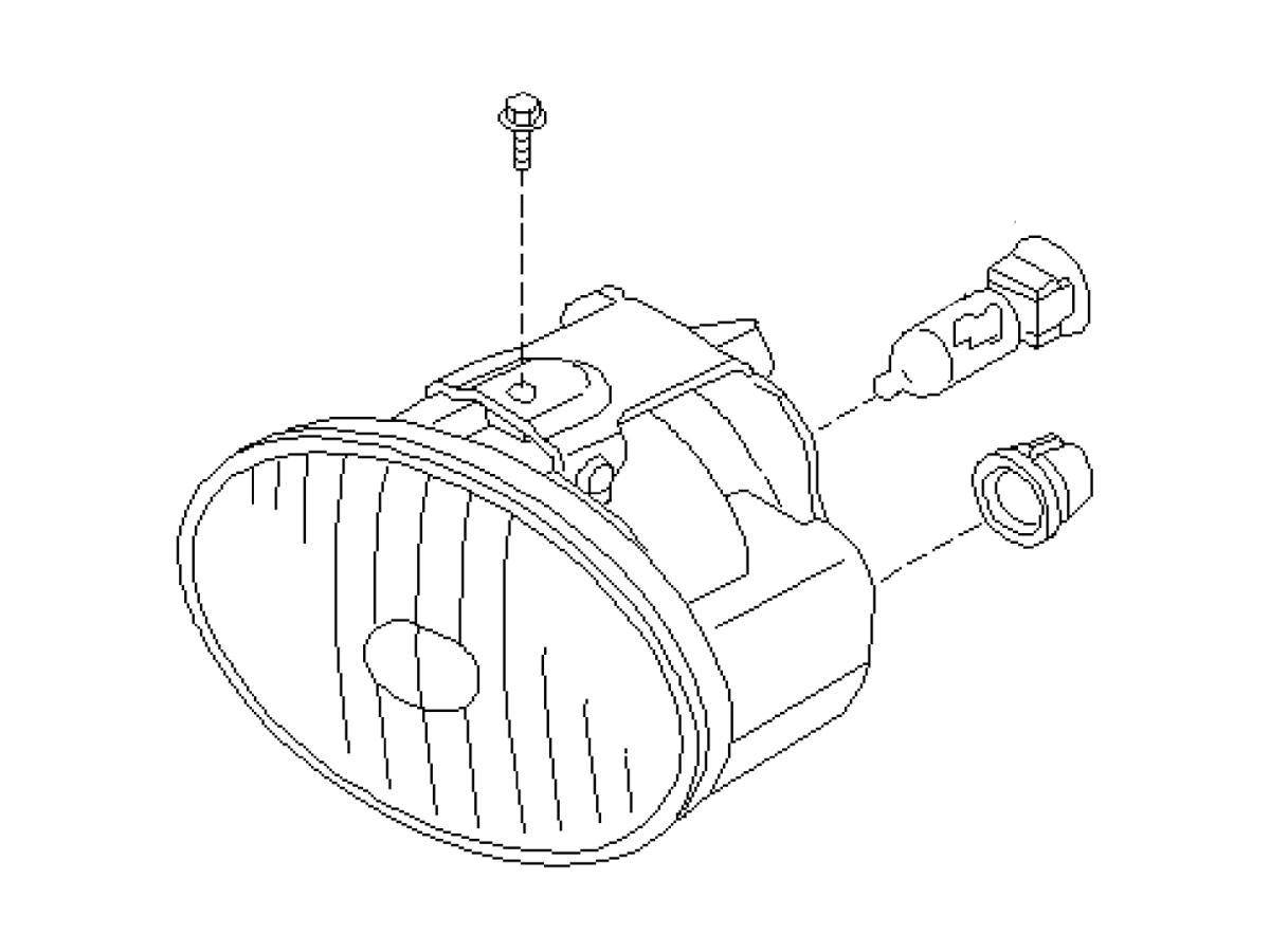 OEM FX35 / FX45 Fog Light Assembly, Z1 Motorsports
