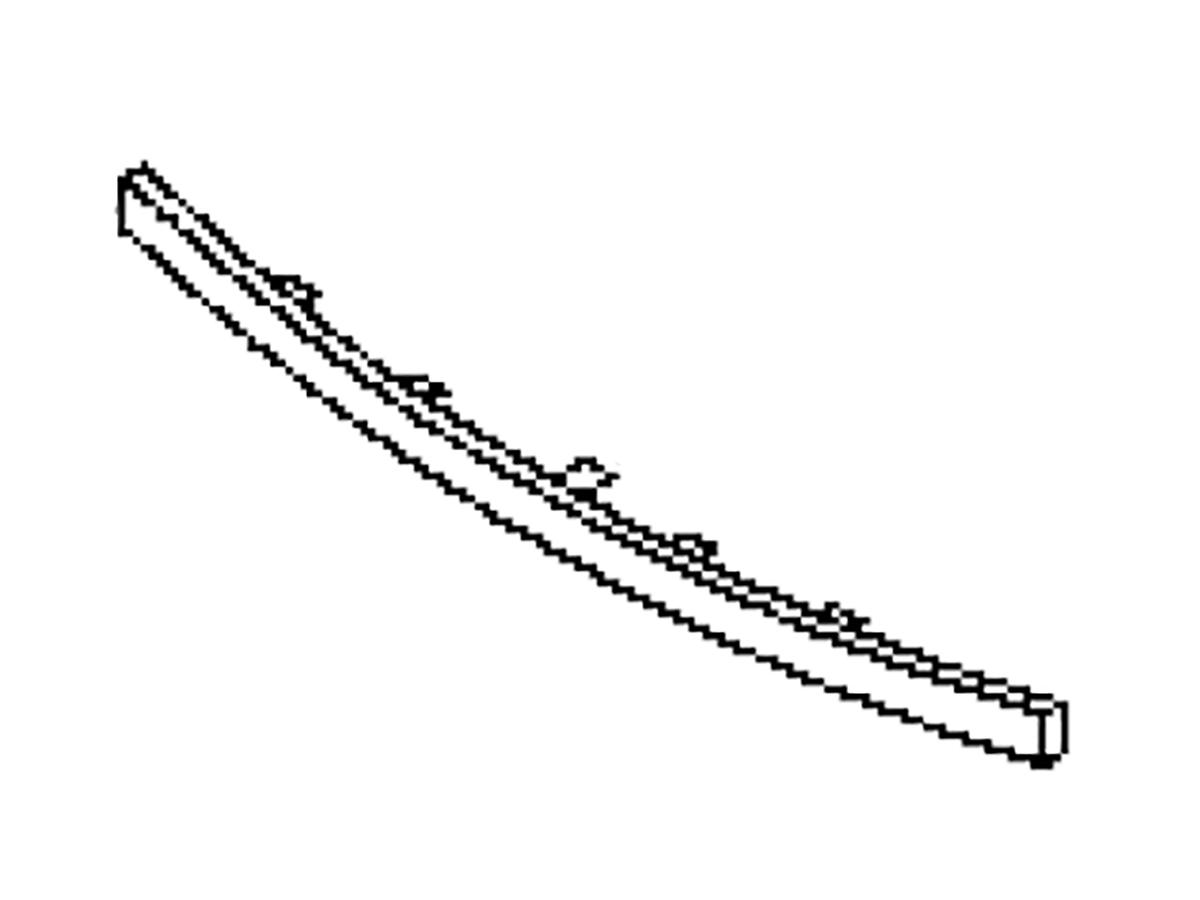 OEM FX35 / FX45 Front Lower Fascia Moulding, Z1 Motorsports