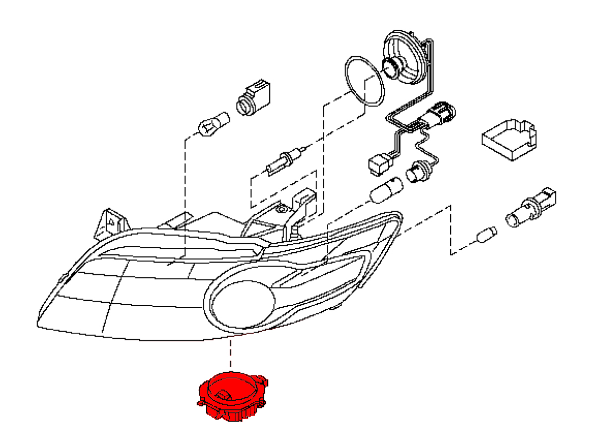 Xenon Fx35 Fx45 Hid Headlight Ballast Z1 Motorsports