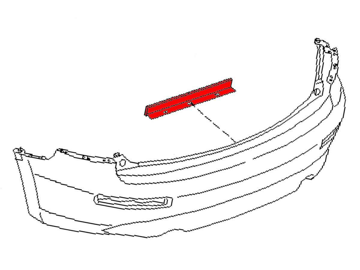 OEM FX35 / FX45 Rear Bumper/Fascia Protector , Performance