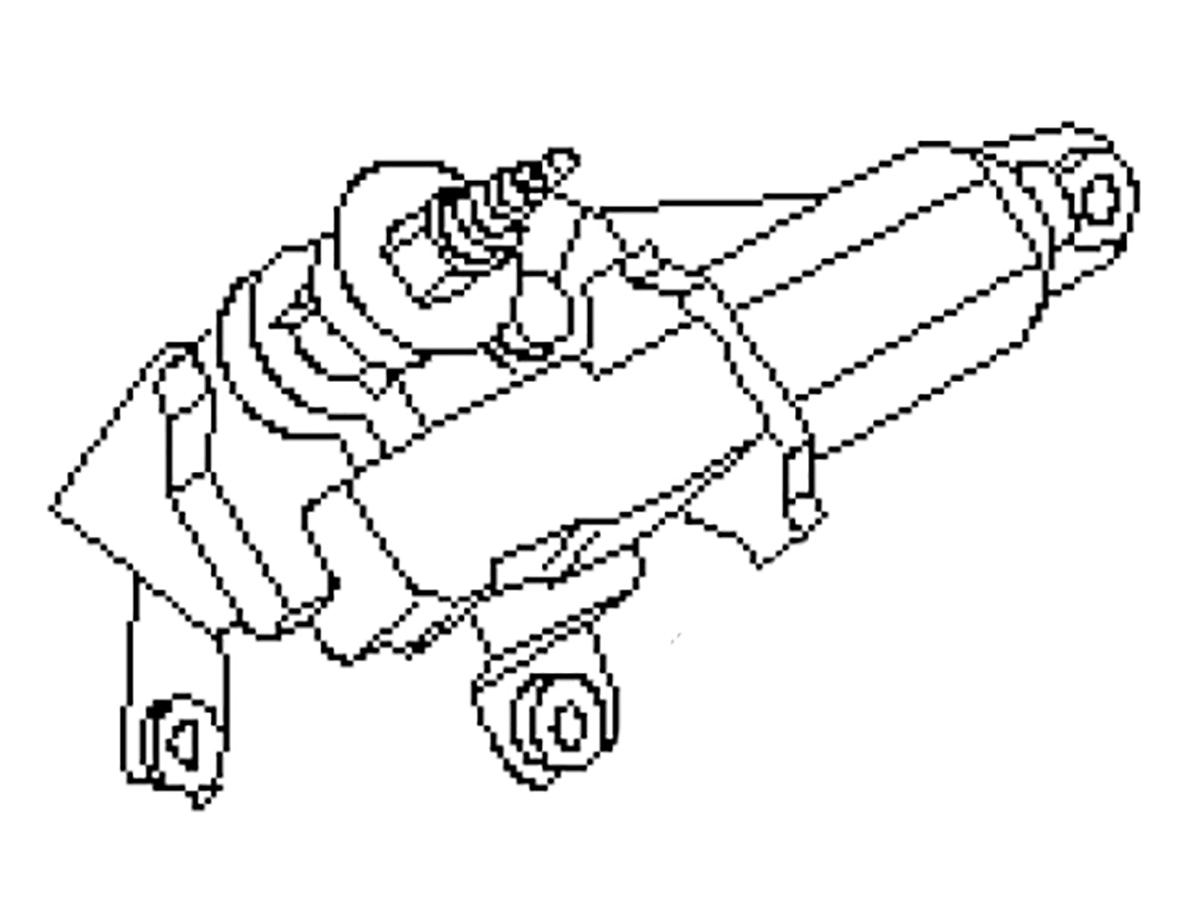 OEM FX35 / FX45 Rear Window Wiper Motor, Z1 Motorsports
