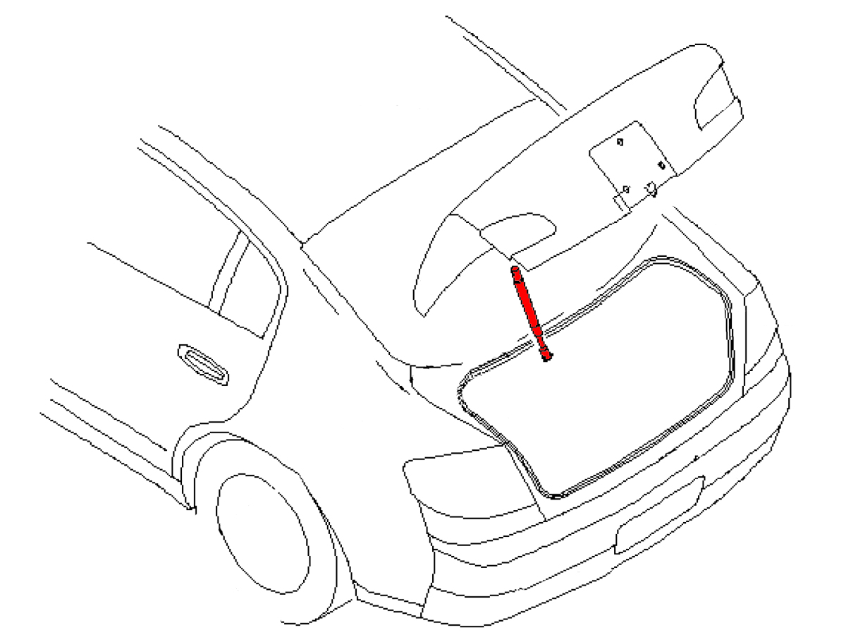 Oem G37 Sedan Trunk Lid Strut Z1 Motorsports 300zx