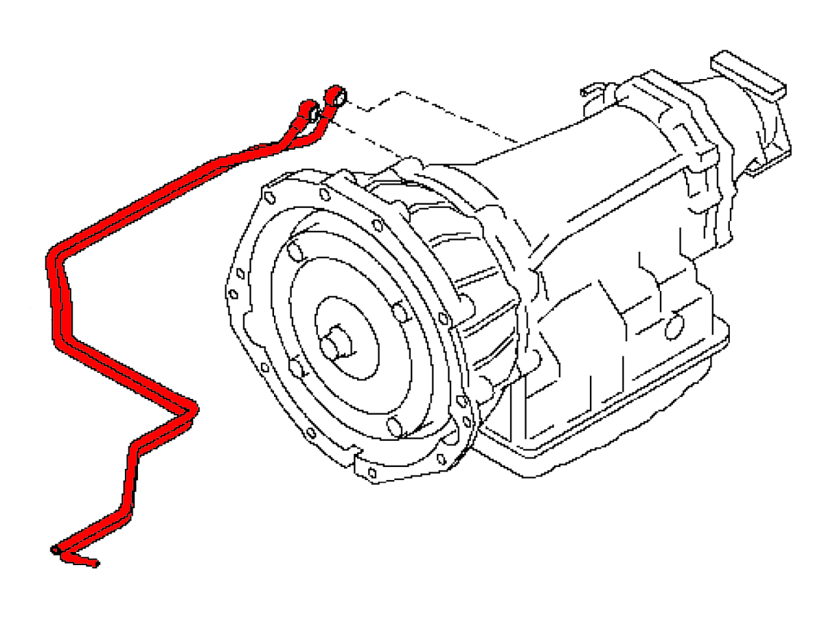 Infiniti G35 Engine Fluid Diagram