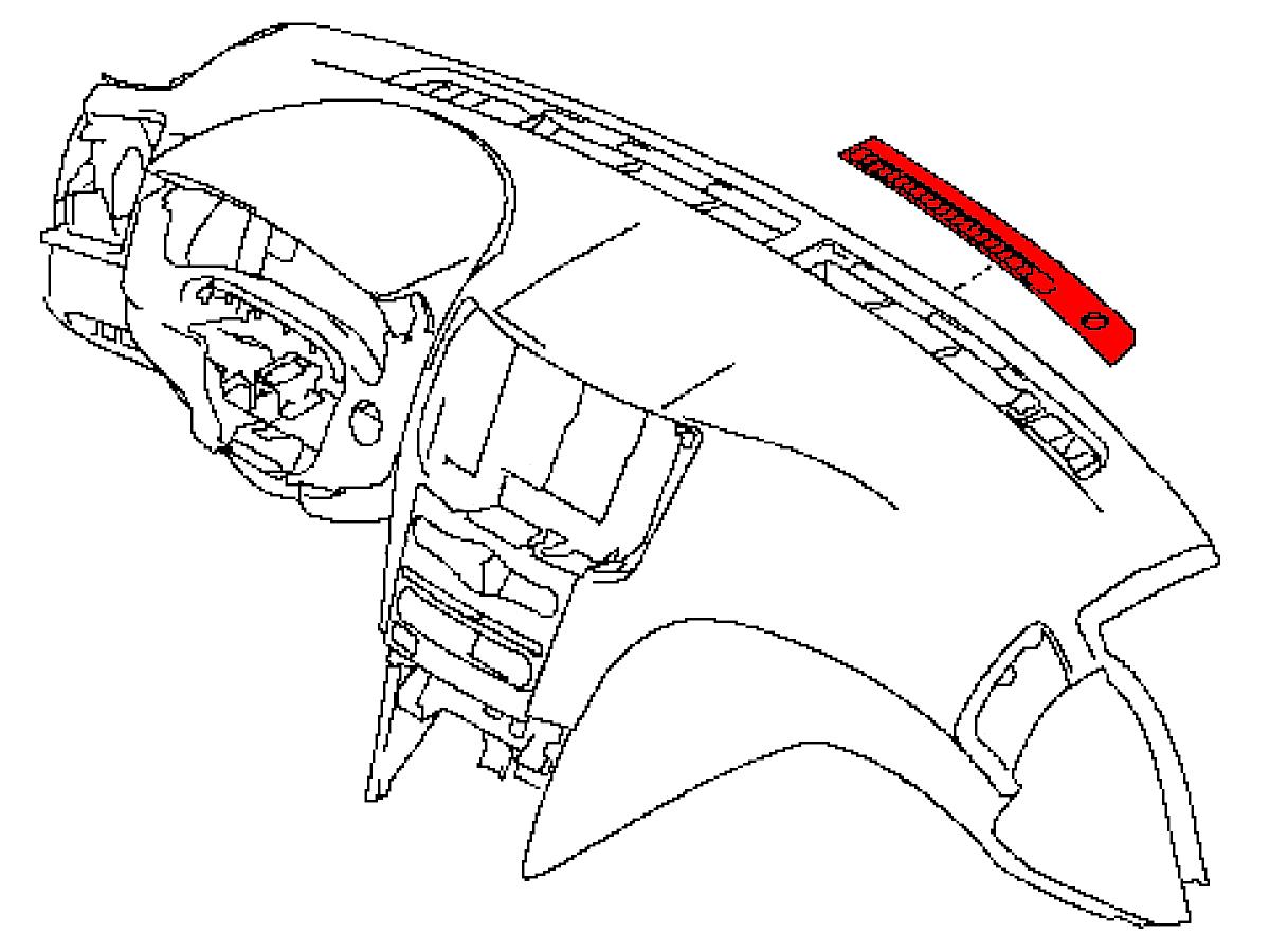 Oem G37 G35 Sedan Defrost Vent Trim