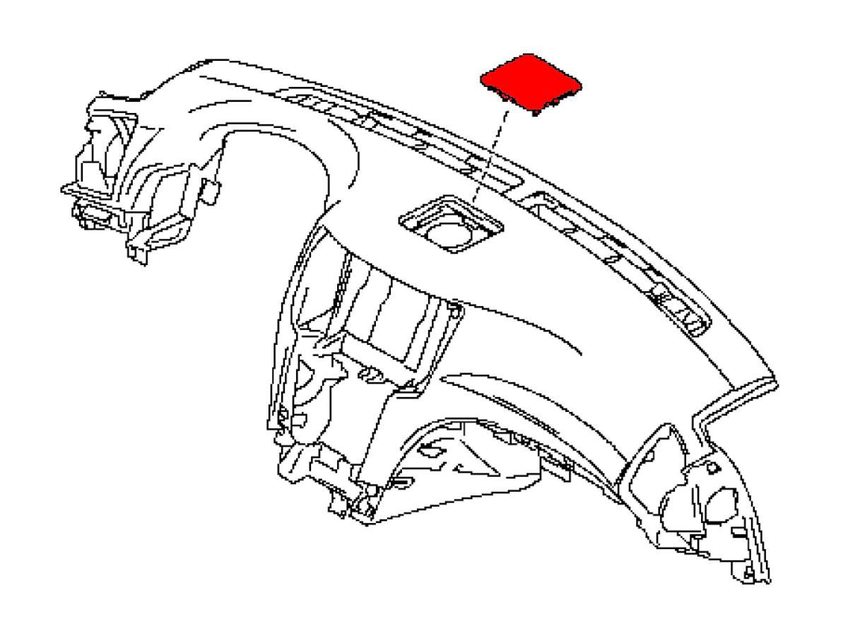 Oem G37 Convertible Dash Board Center Speaker Cover Z1