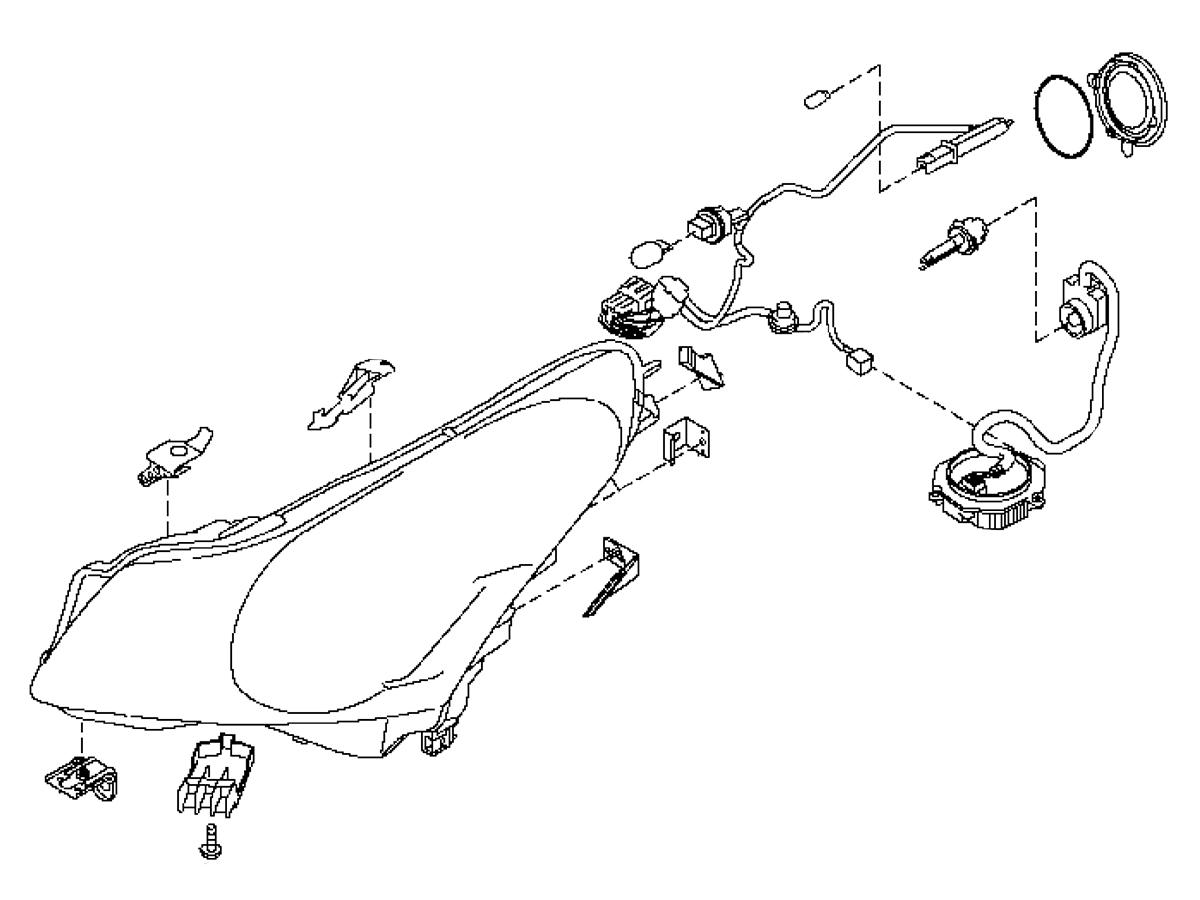 Oem G37 Sedan Headlamp Assembly Z1 Motorsports