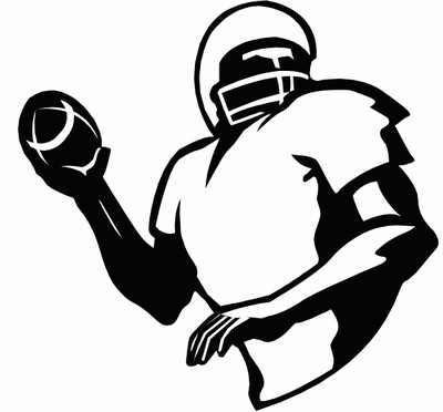 Football Clipart 2018- Z31 Coloring Page