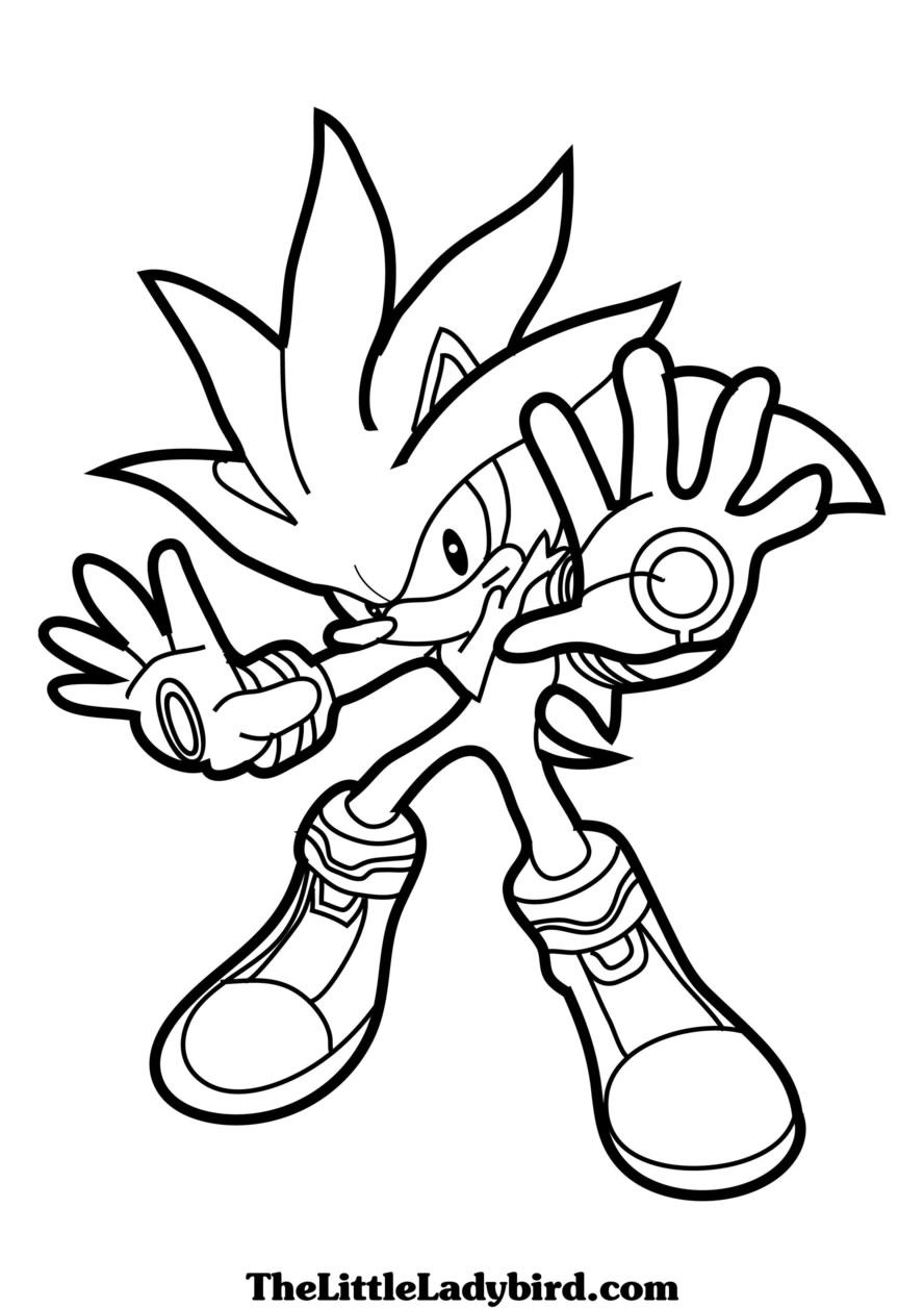 Sonic Coloring Pages Z31