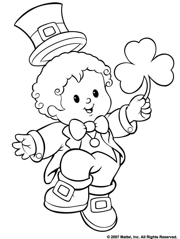 St Patricks Day Coloring Pages Z31 Coloring Page