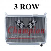 Champion Radiator - 3 Core Aluminum