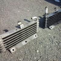 Z32エンジンオイルクーラーコア交換