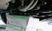 Z32エンジンオイル交換写真(オイルパン)