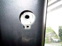 Z32 上側シートベルトアンカーボルト取り外し 写真(その2)