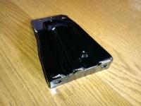 サビ転換剤塗布後のZ32バッテリー下のパーツ写真